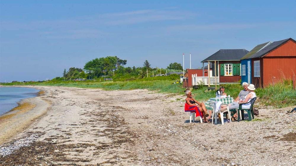 Strandhus på Ærø