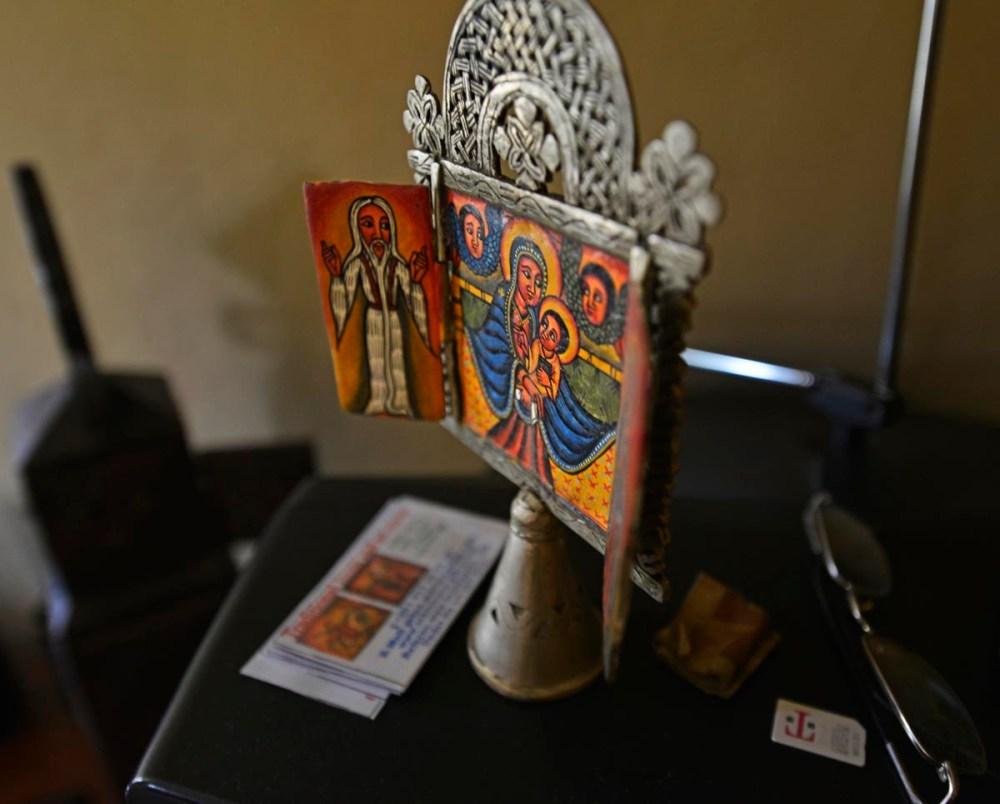 Jern-ikon fra Etiopia