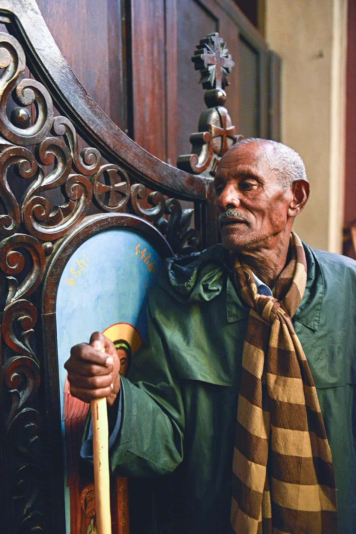 Etiopisk mann