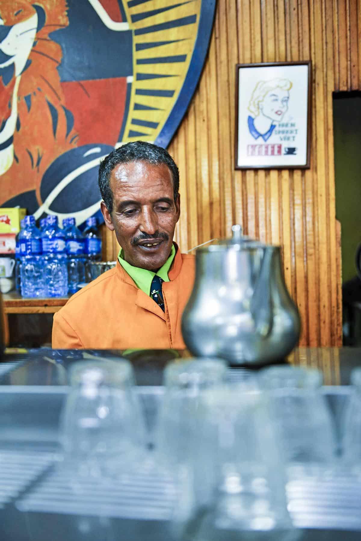 Tomoca i Addis Abeba
