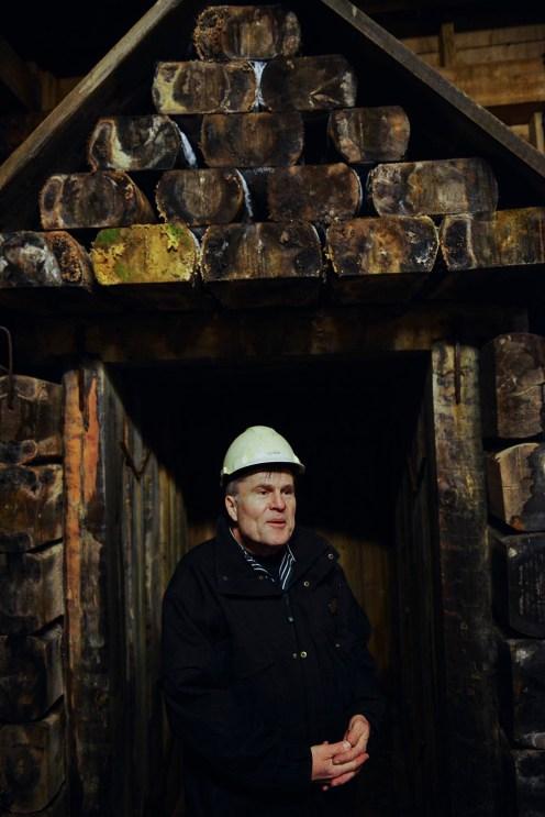 Inngangen til Falun gruve