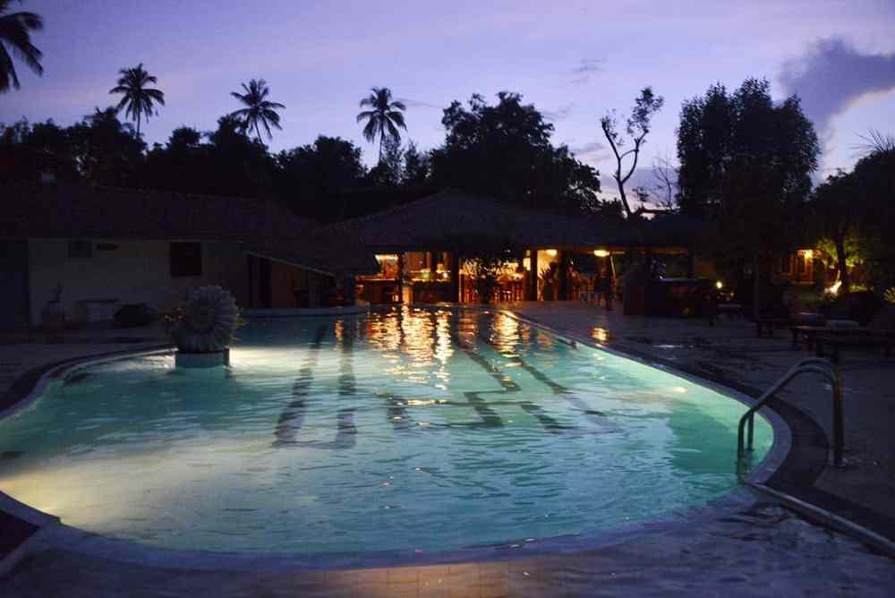 Basseng i Suwaya Villa i Sri Lanka