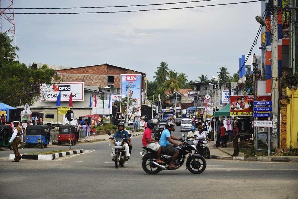 Tangalle by på Sri Lanka