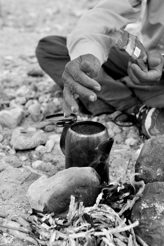 Te i ørkenen