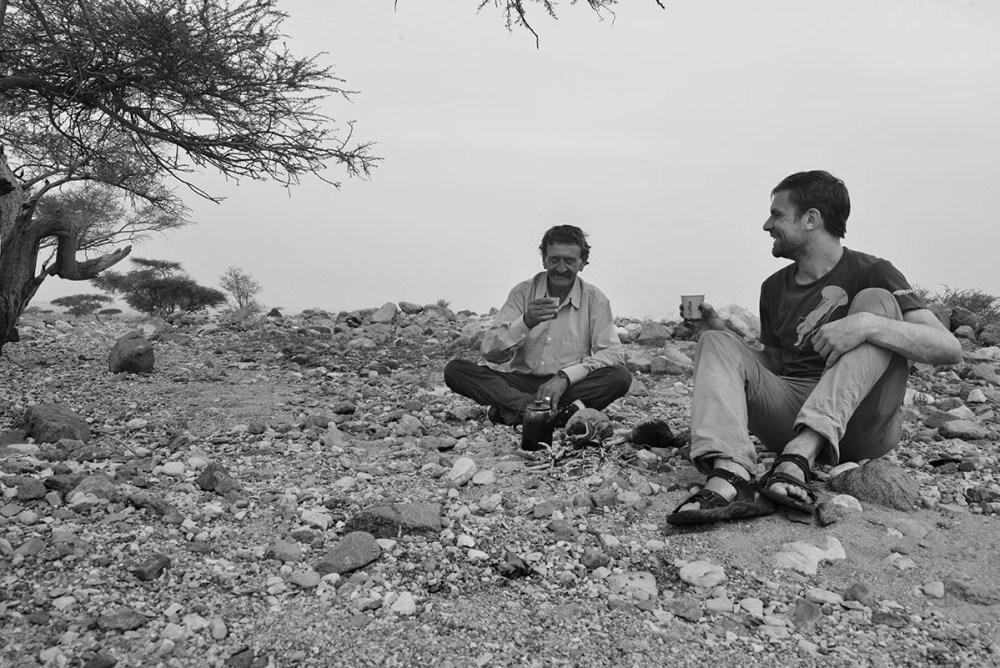 Te i Jordans ørken