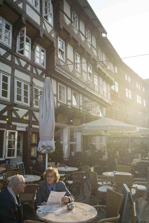 Uterestaurant i Goslar