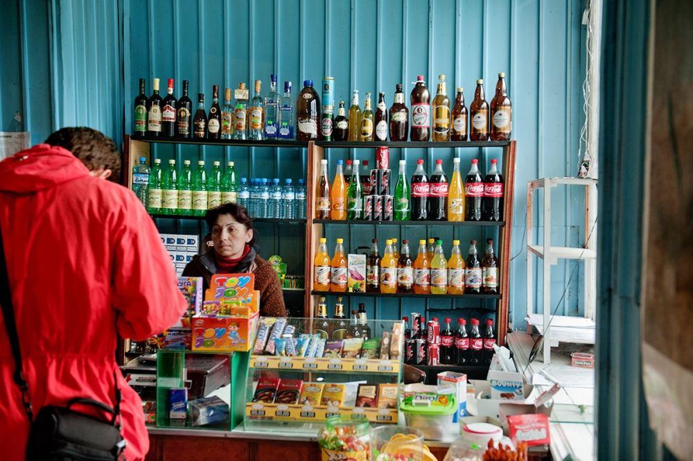 butikk i Stepantsminda