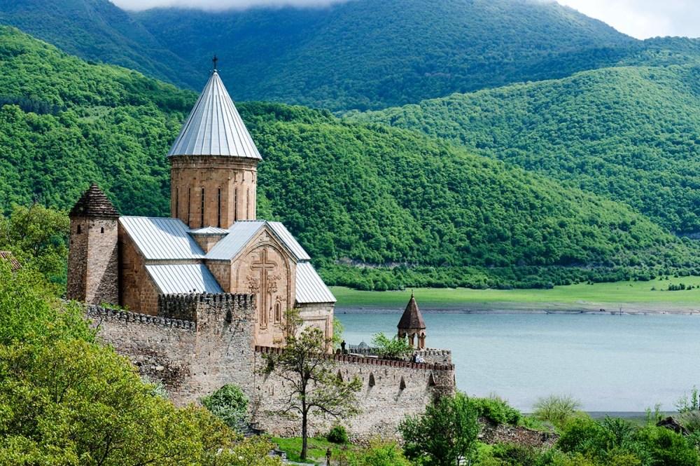 Ananuri kirke i Georgia