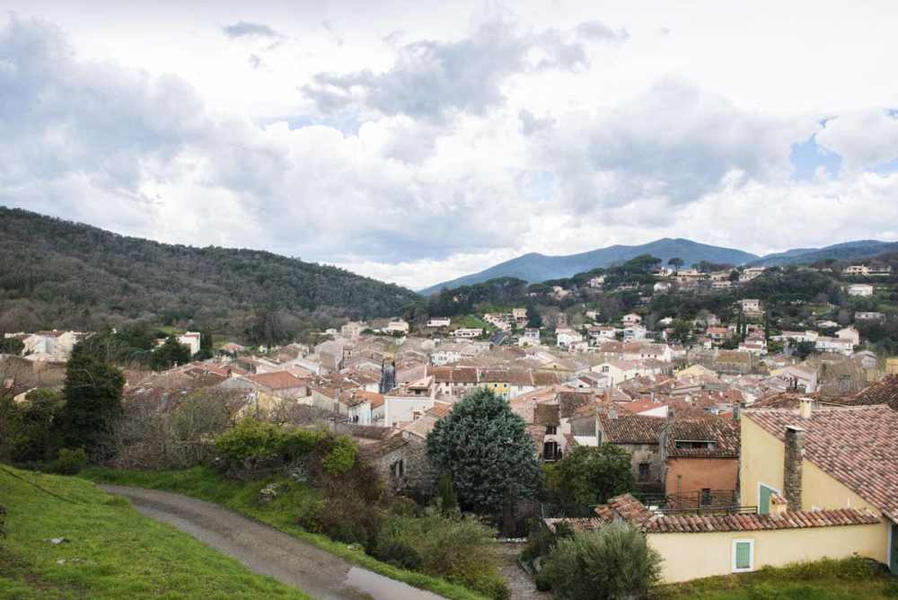 Collobrieres i Var Provence