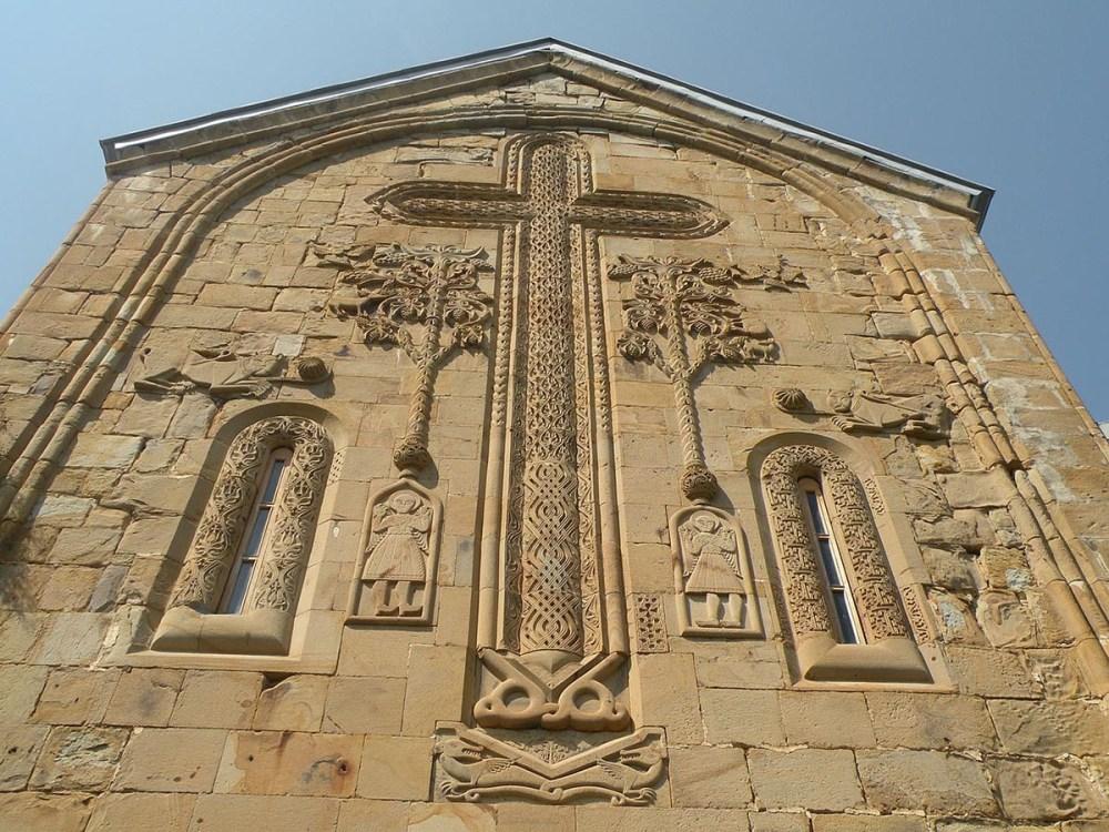 fasade kirken i ananuri