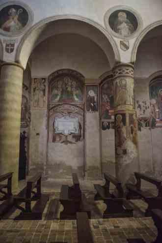 kunst i Chiesa di San Giovenale i Orvieto