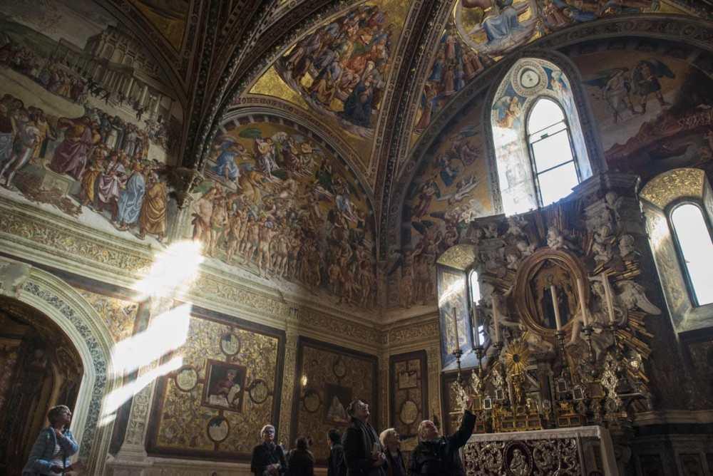 Capella San Brizio av Signorelli