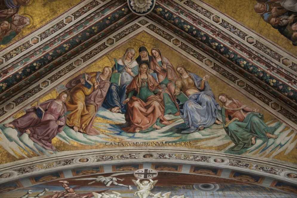 Detalj fra San Brizio-kapellet