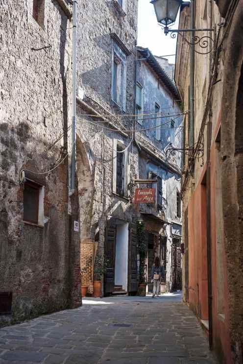 Hovedgata i Soranos gamleby.