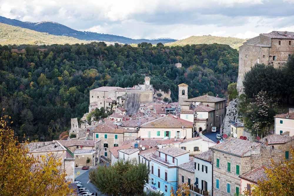 Sorano i Toscana