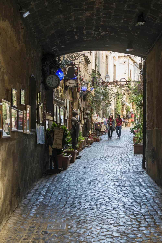 Via dei Magoni i Orvieto