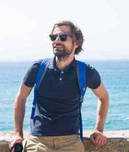 Reiseblogger Gjermund Glesnes i Tarifa