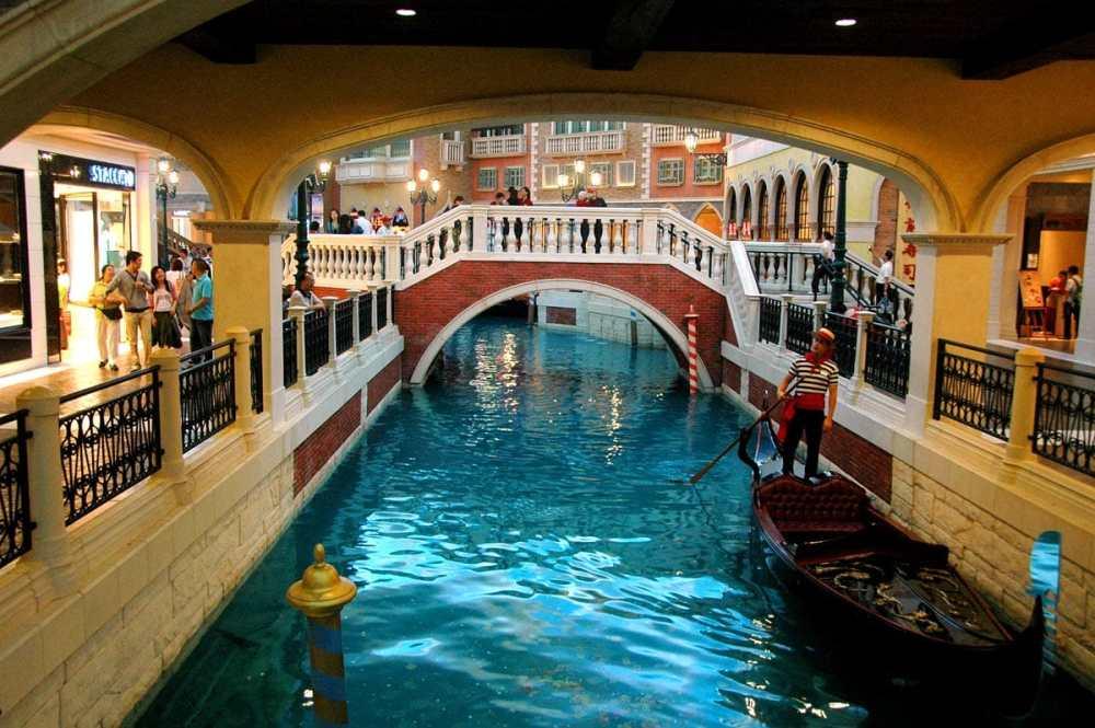 Kanal i Venetian-kasinoet i Macao