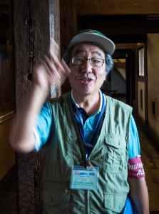 Turistguide i Matsumotoborgen