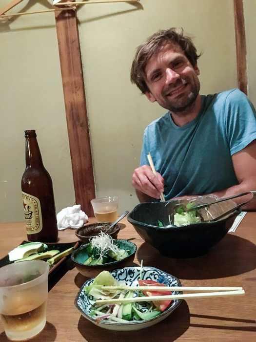 Endelig god mat i Japan!