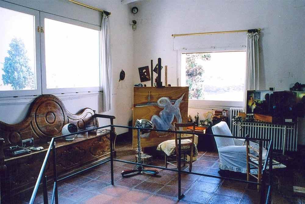 Salvador Dalis atelier i Portlligat utenfor Cadaques
