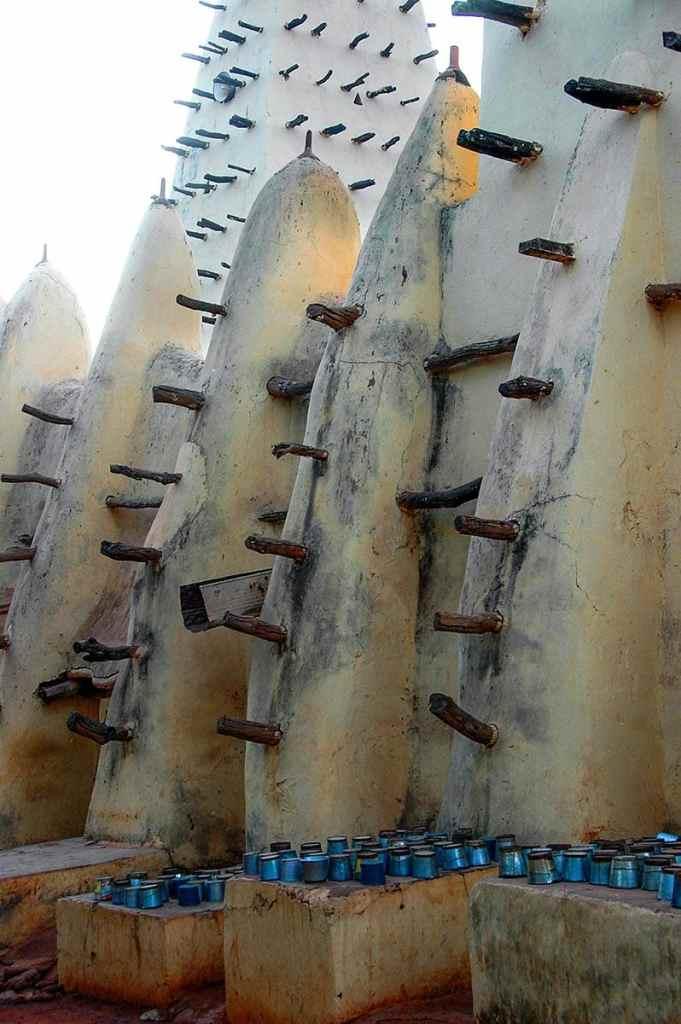 Moskeen i Bobo-Dioulasso