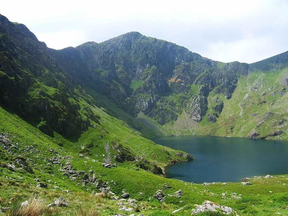 Cadair Idris i Snowdonia