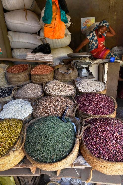 Krydder på markedet i Lamu by