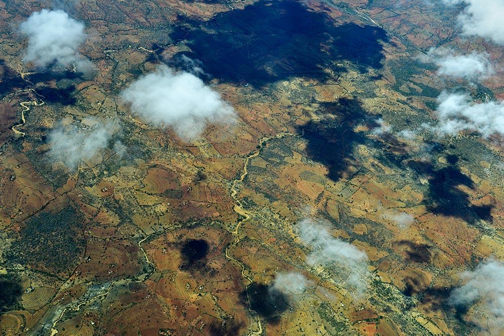 Flyfoto i Kenya