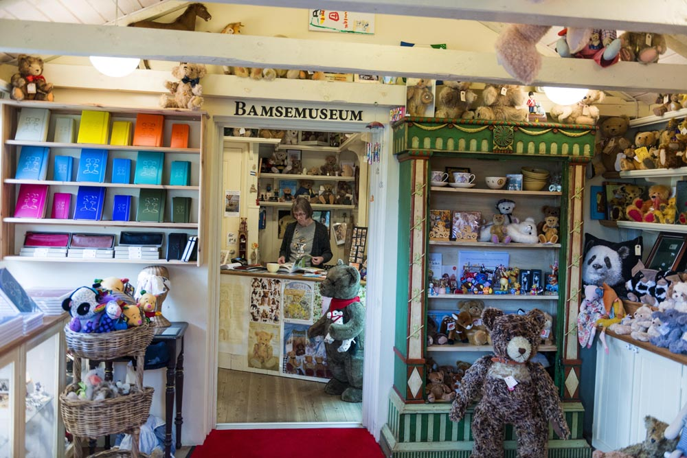 Butikken i Skagen bamsemuseum