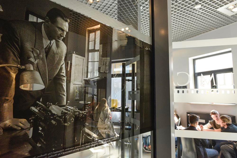 Oscar Schindler i museet i Krakow