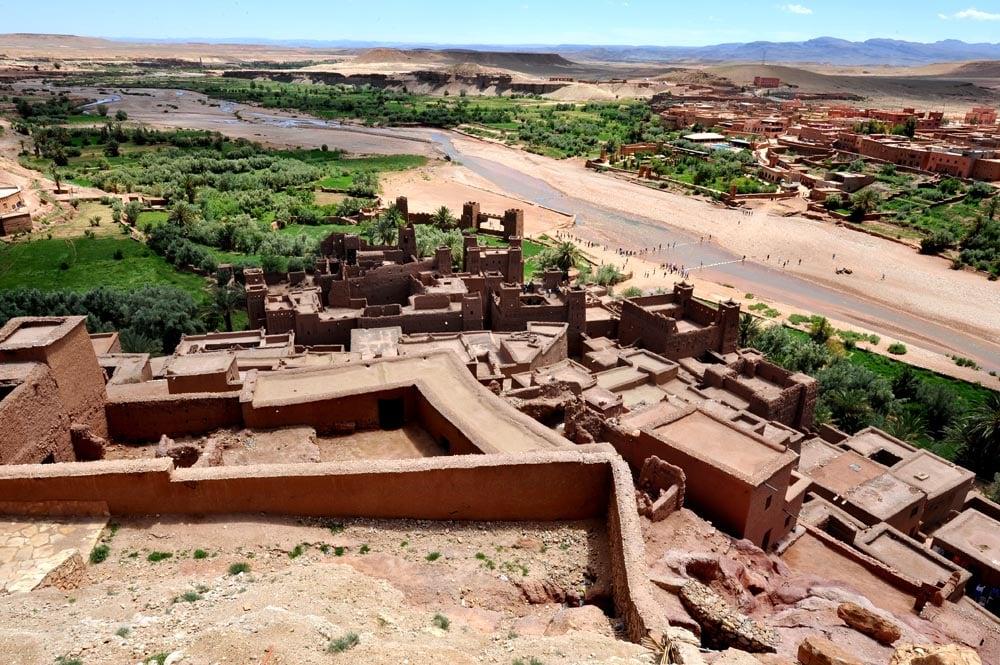 Ksaren Aït Benhaddou i Marokko