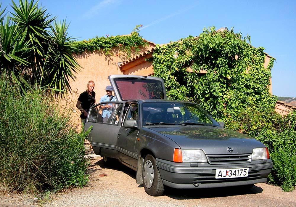 Opel Kadett fotografert i Frankrike