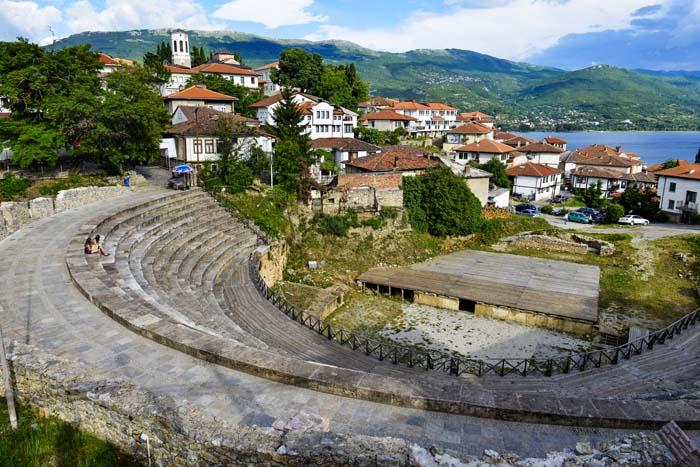 Det antikke teatret i Ohrid