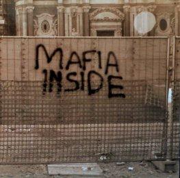 Mafia Inside tagget i Catania på Sicilia