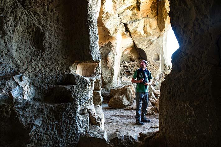 Grotte i Udabno i David Gareja i Georgia