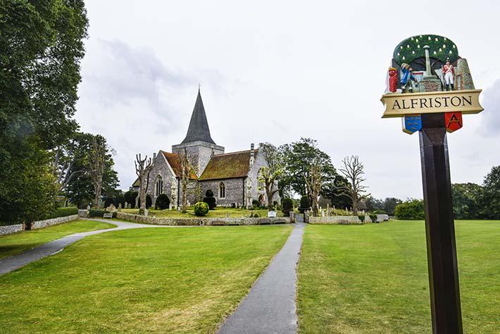St. Andrew's Church i Alfriston
