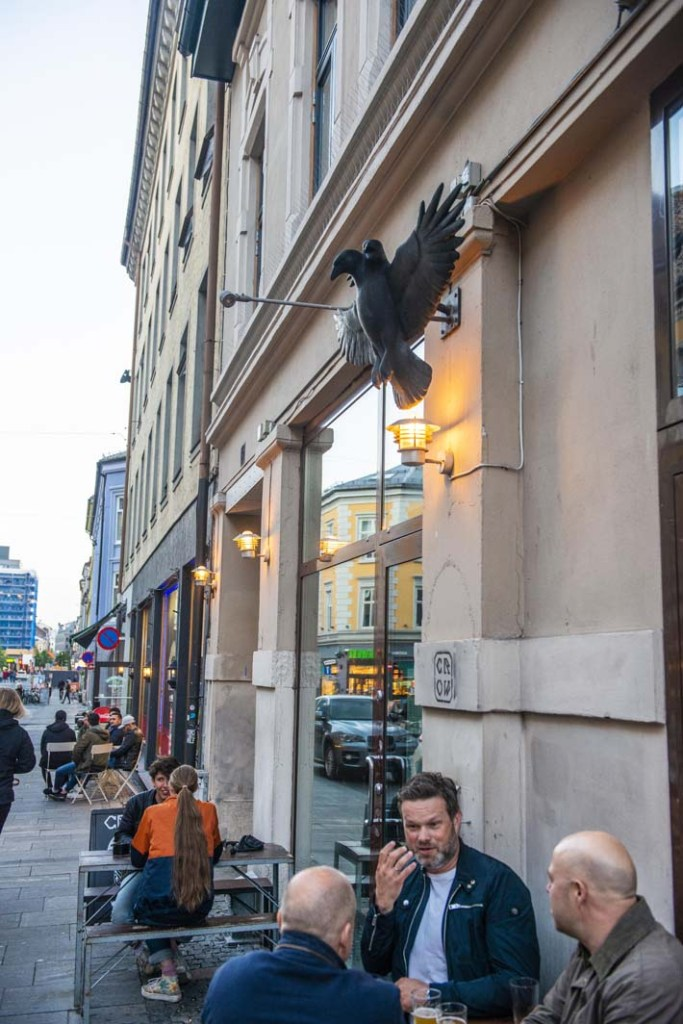 Mikrobryggeripuben Crowbar i Torggata i Oslo