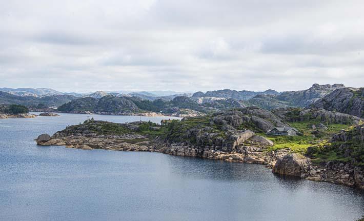 Landskap i Dalane i Rogaland