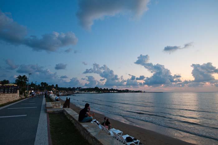 strandpromenaden i Side