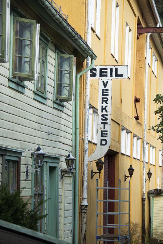 Skilt i Egersund