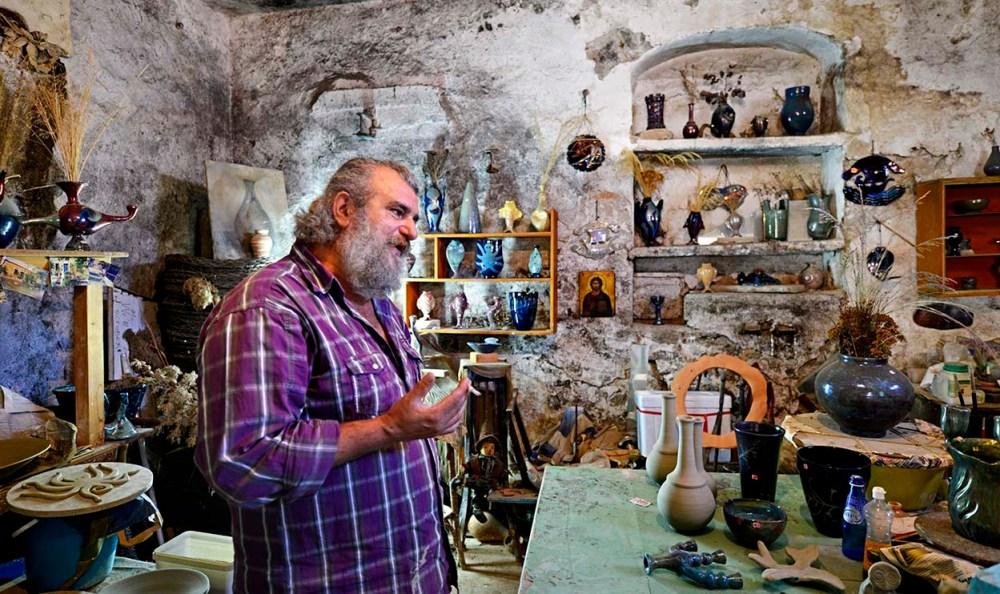 Keramikeren Nikos Balatsos