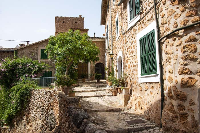 Smug i Fornalutx på Mallorca