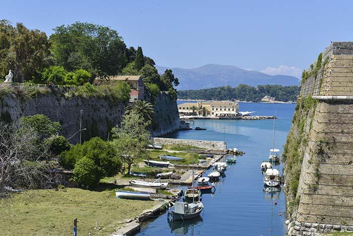 Contrafossa i Korfu by