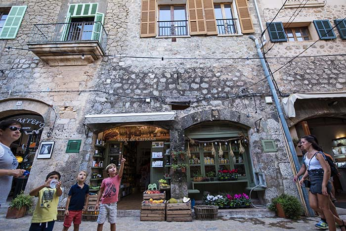 Butikk i Valldemossa på Mallorca