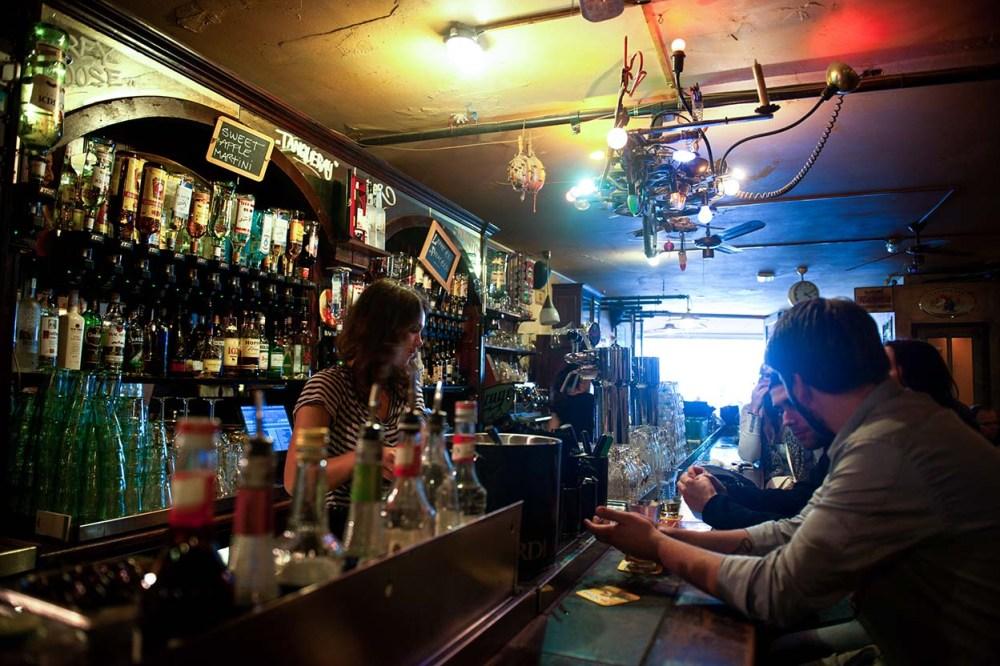 En bar i Amsterdam