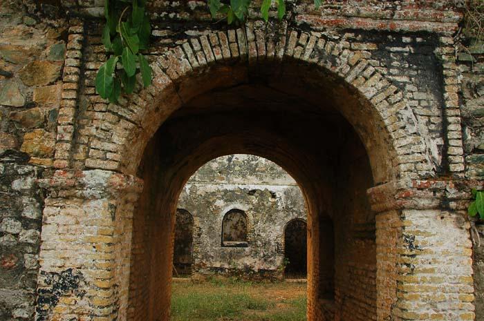 Inngangen til Fort Batenstein i Ghana