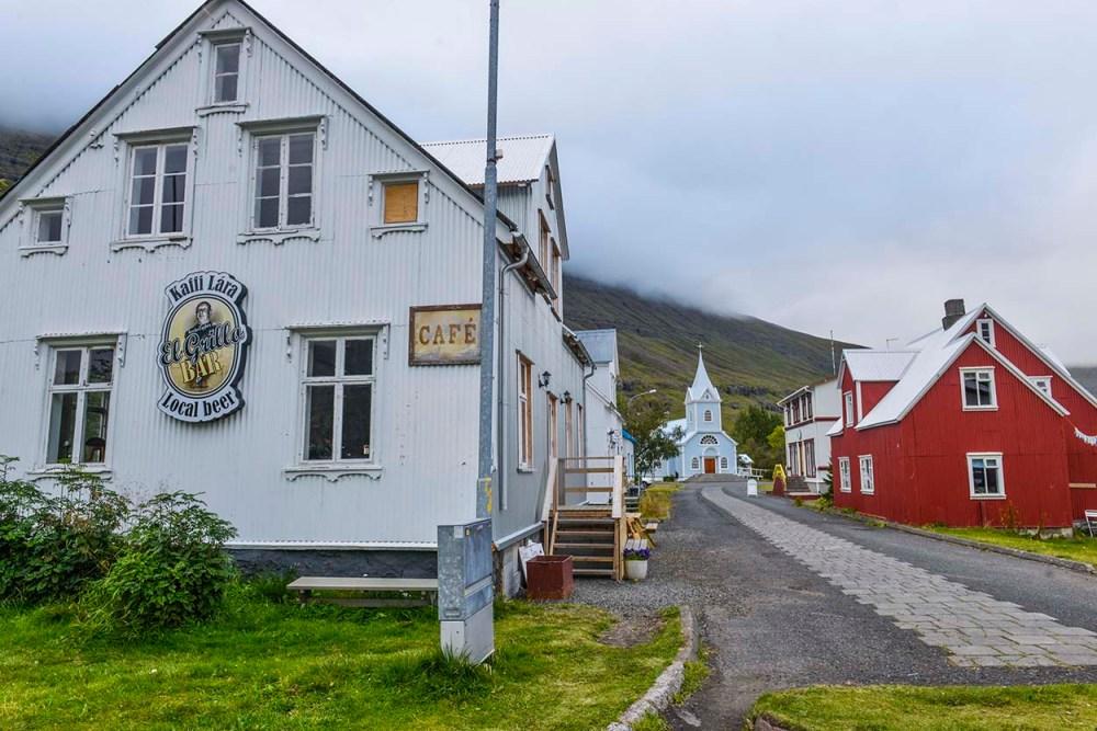 Kaffi Lara i Seyðisfjörður
