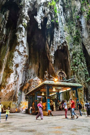 Tempelet til Murugan i Batu Caves