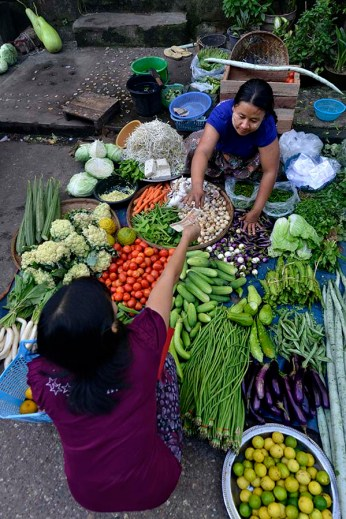 Marked i Yangon